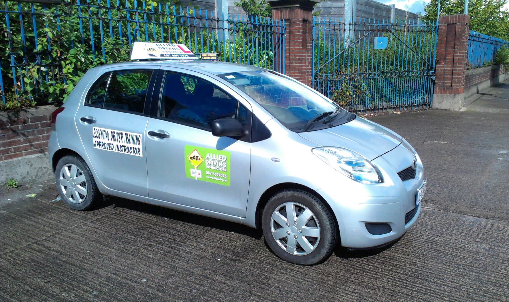Transition year driving lessons